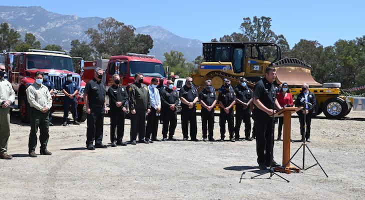 Santa Barbara's South Coast is Now in High Fire Season