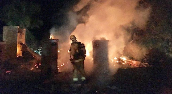 Refugio Office Space a Complete Loss in Fire