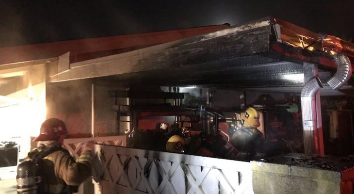 Fireworks Cause Structure Fire in Goleta