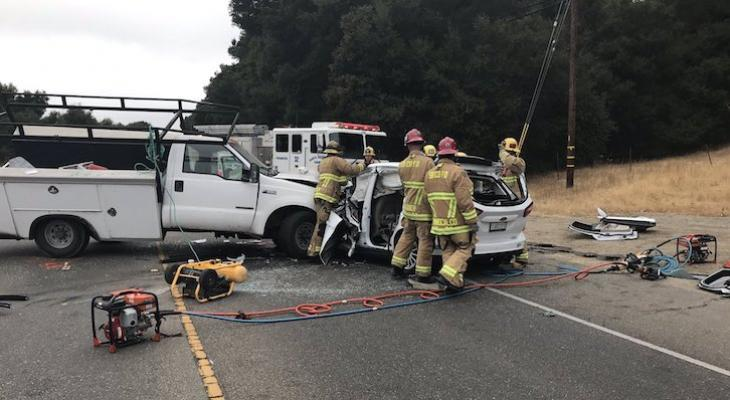Fatal Traffic Collision Closes Highway 246