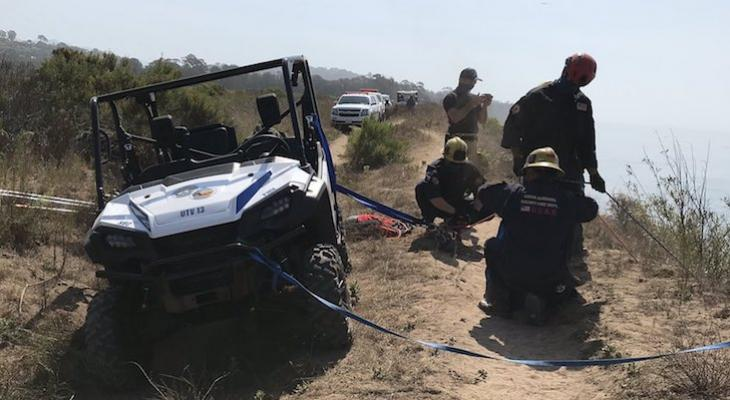 Dog Rescued from More Mesa Bluffs