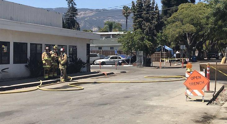 Evacuation Order Lifted in Old Town Goleta Due to Gas Leak
