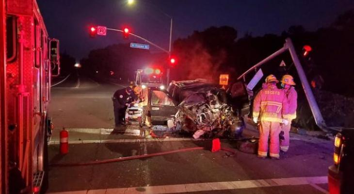 Two Injured in Highway 246 Collision