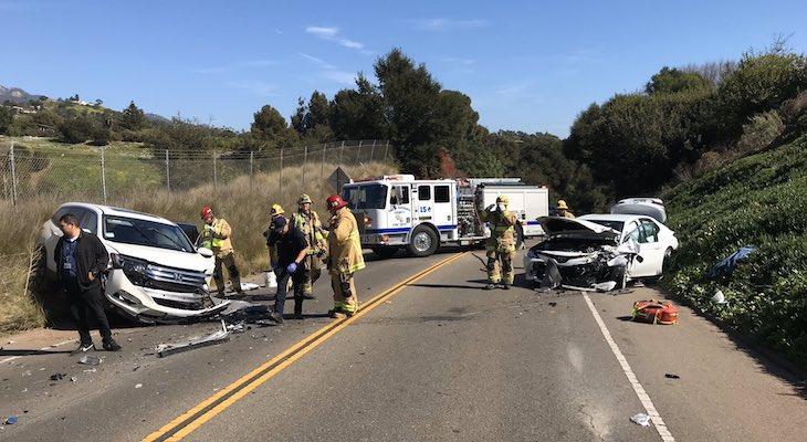 Three Injured in San Roque Traffic Collision