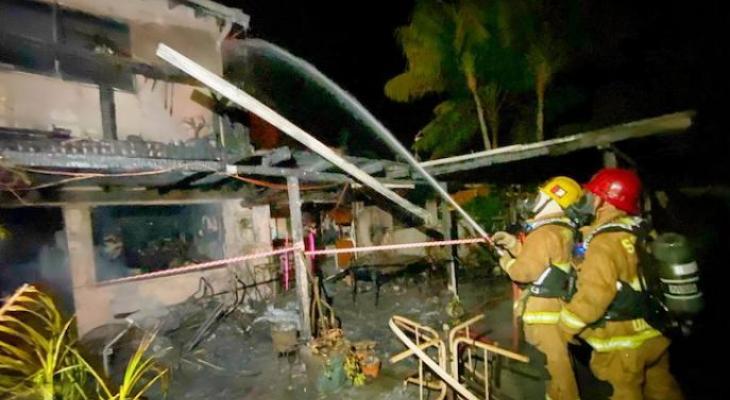 House Fire Displaces Goleta Family