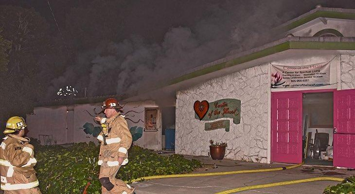 Goleta Church Catches Fire Monday Evening