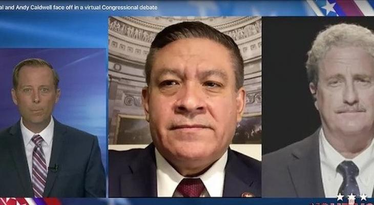 TV Debate: Carbajal and Caldwell Clash on...Well, Everything