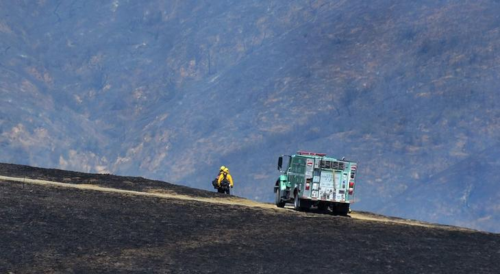 Alisal Fire 97% Contained at 17,281 Acres