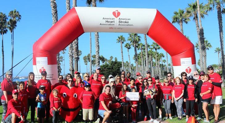 2017 Santa Barbara Heart & Stroke Walk