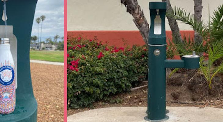 Two Hydration Stations Added to Santa Barbara Parks