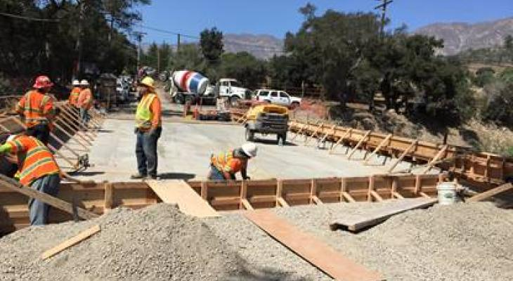 CALTRANS Continues Work on SR 192 Following Montecito Floods