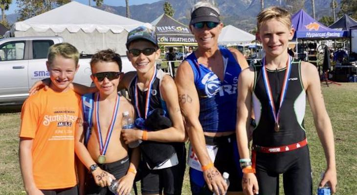 Teen Brothers Raise Nearly $100,000 in Triathlon Event for Foodbank