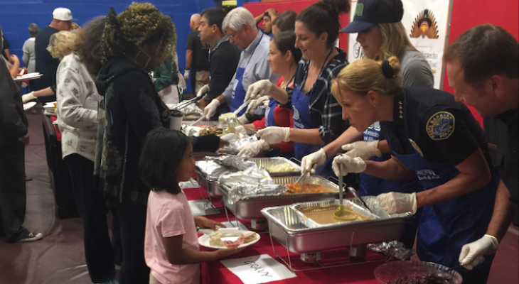 Free Thanksgiving Dinner at Boys & Girls Club