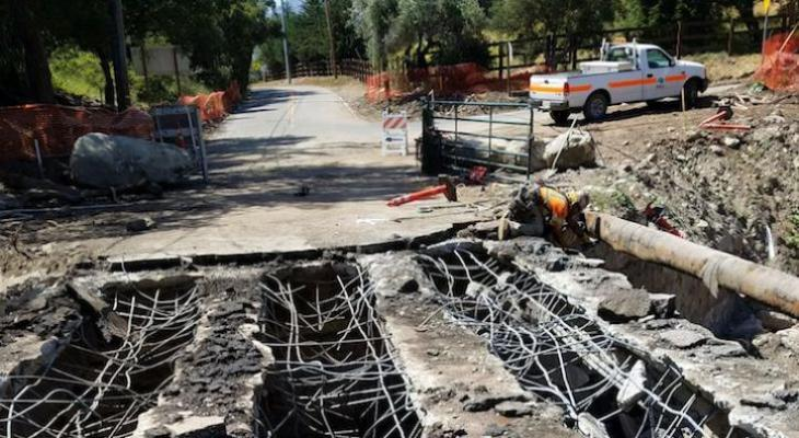 Caltrans Continues Bridge Demolition in Montecito