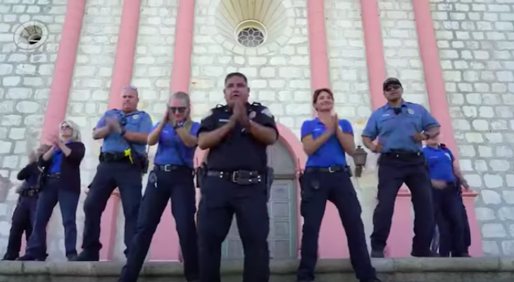 Santa Barbara Police Release Lip Sync Challenge Video