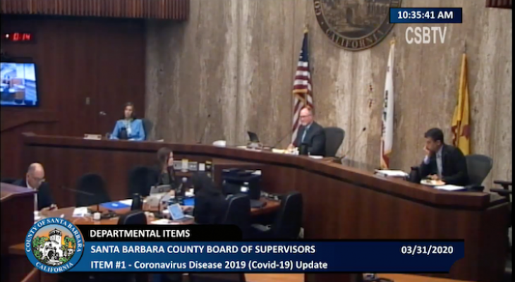 Board of Supervisors Discuss Coronavirus Timeline and Preparation