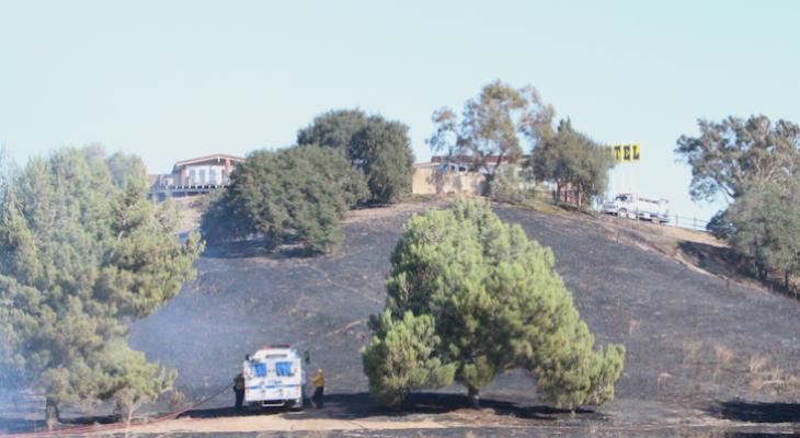 Forward Progress Stopped in SkyView Motel Brush Fire