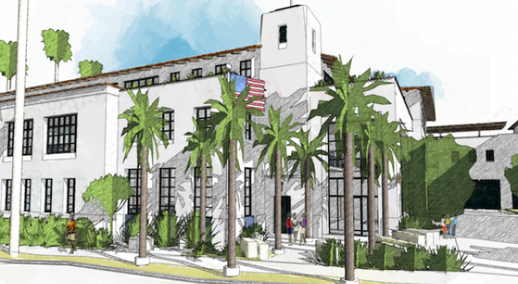 Proposed Santa Barbara Police Station Building Moves on to Planning Department