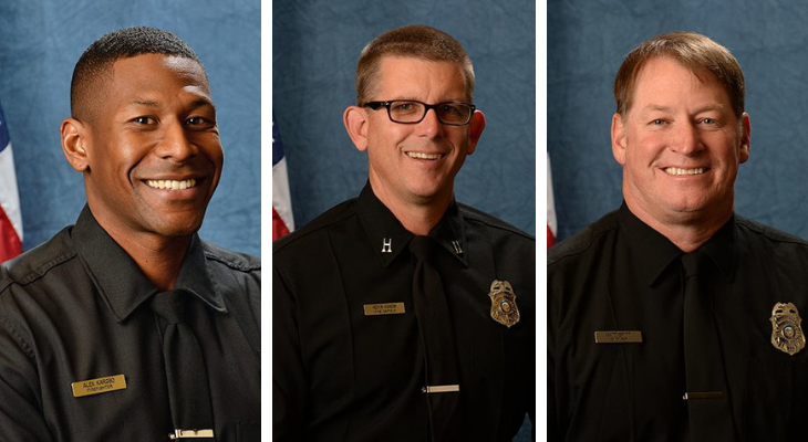 Valor Award Honors Three Firefighters