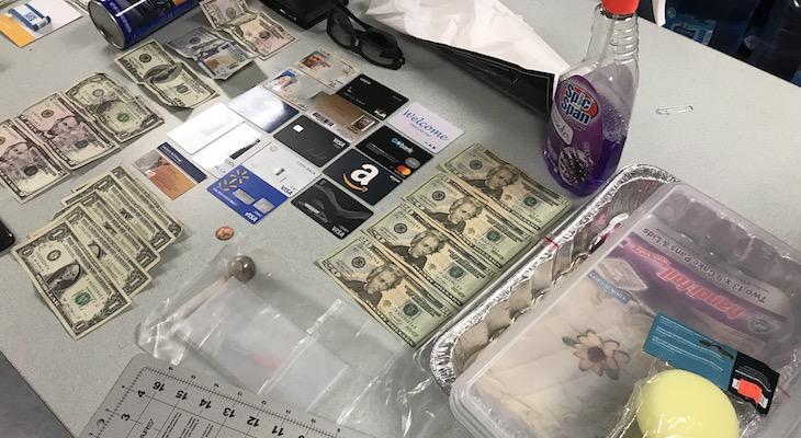 Traffic Stop Leads to Discovery of Alleged Counterfeit Ring