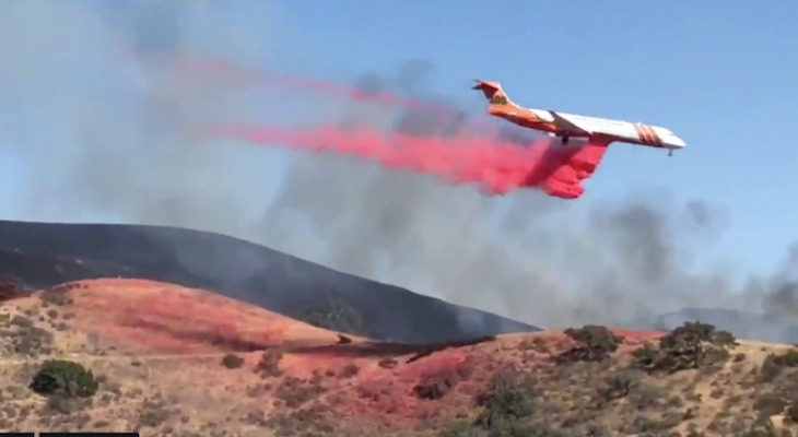 Windmill Fire Now at 110 Acres, 80% Contained