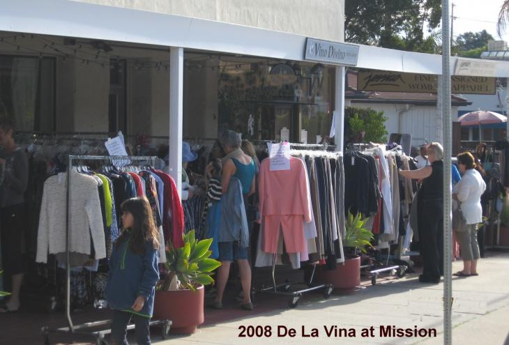 picture of sidewalk sale