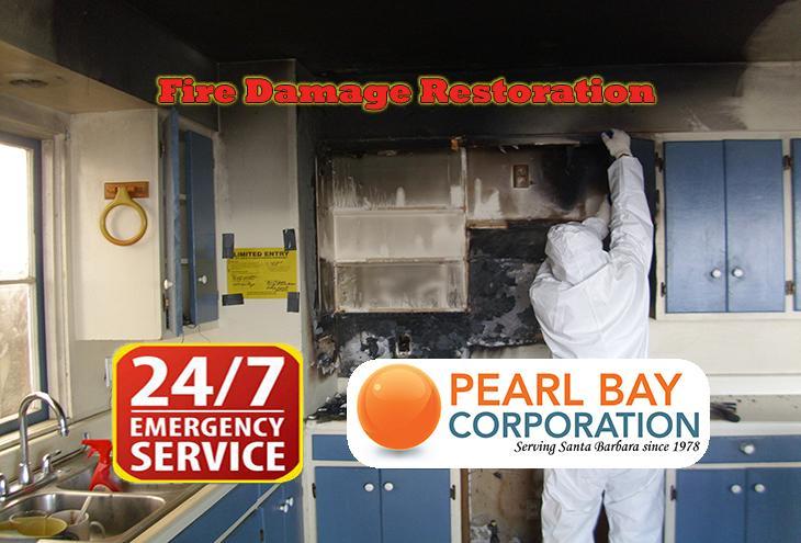 Fire Damage Cleanup Repair & Restoration Santa Barbara