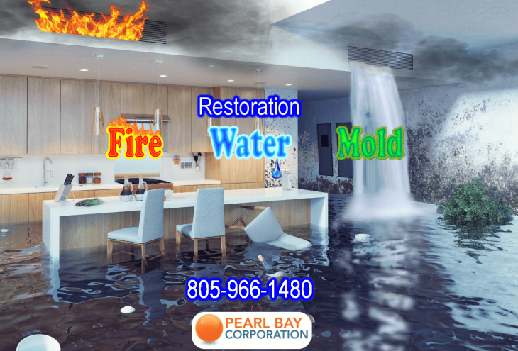 Pearl Bay Rainbow Restores Flood Water Damage, Smoke & Fire Damage, and Mold Damage 24/7