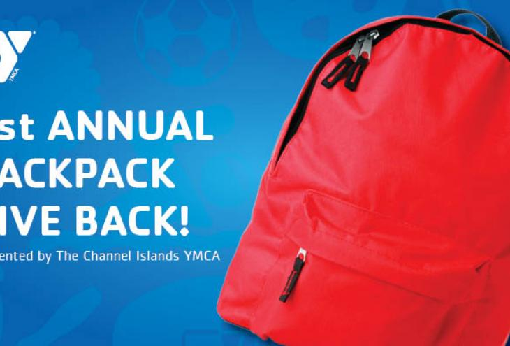 The Channel Islands YMCA Youth and Family Services Launches 1st Annual Backpack Give Back