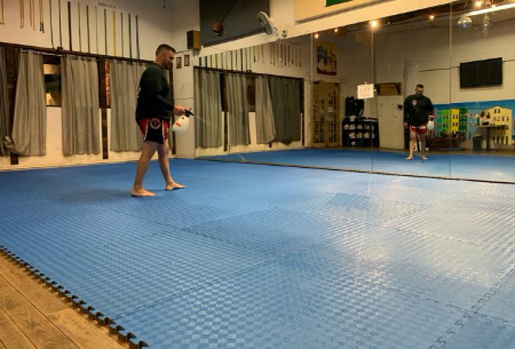 Santa Barbara Martial Arts Academy Consults Scientist to Ensure Clean Reopening
