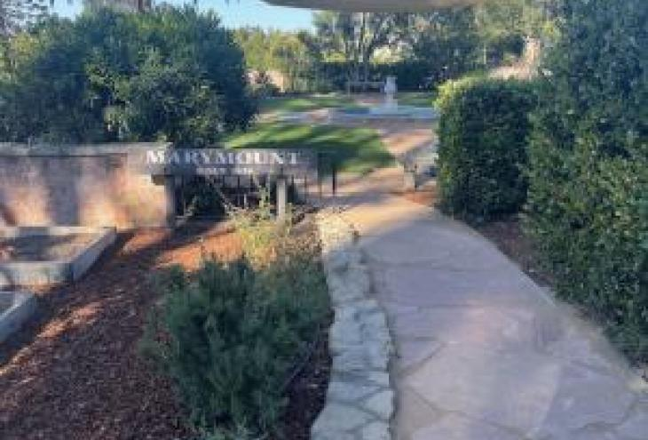 The Riviera Ridge School honors its history, embraces future with rededication of the Marymount Meditation and Heritage Garden
