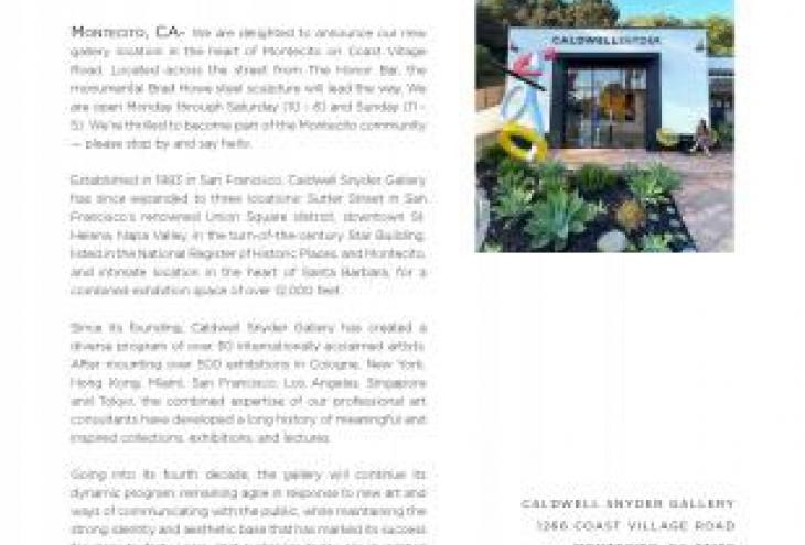 Caldwell Snyder Gallery New Location