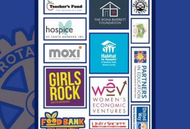 Rotary Club of Montecito awards $13,000 to local  non-profit organizations