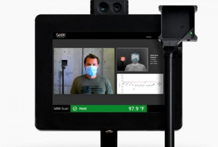 Seek Thermal Launches Seek Scan Kiosk for Simple All-in-One Temperature Screening Solution