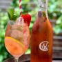 Carr Winery rosé spritzers